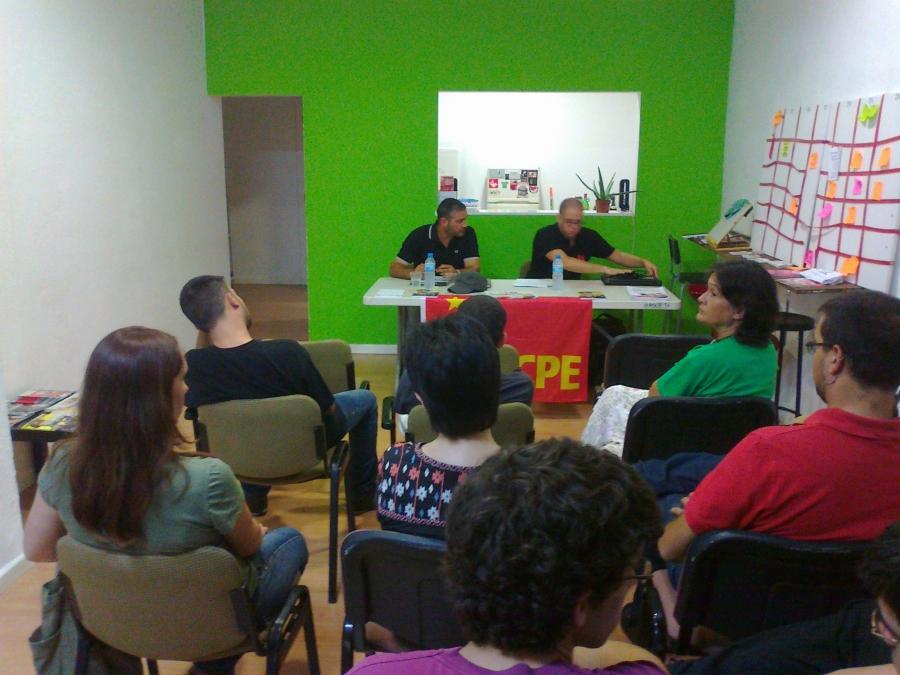 Crónica del acto sobre la LOMCE en Mallorca.