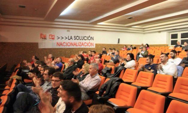 Crónica del acto celebrado en Villablino de presentación de la nueva célula en León del Partido Comunista