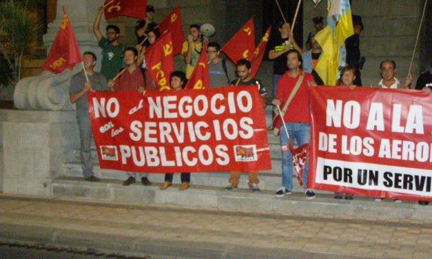 Avanza la lucha de AENA en Tenerife
