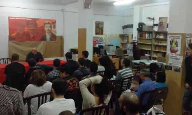 Acto por la Revolución de Octubre en Málaga