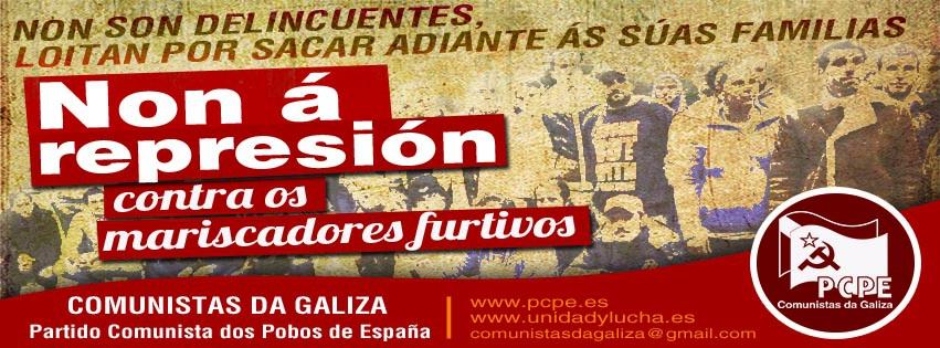 Solidaridad con los trabajadores y trabajadoras de la marea en Ferrol