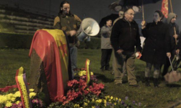 Homenaje Aja y Pancho, Guerrilleros Antifascistas, Torrelavega