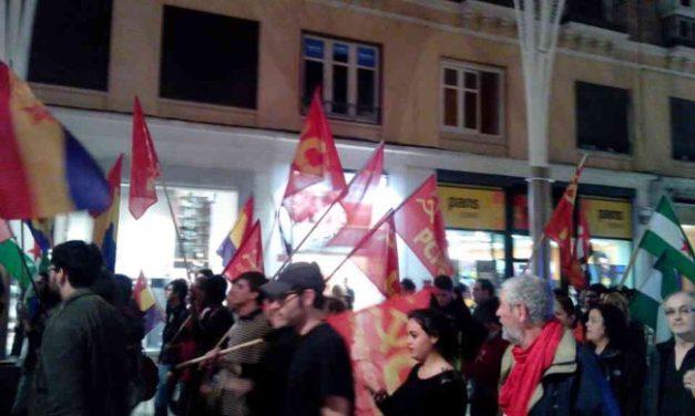 Málaga, Manifestación Antifascista del 20 de Noviembre de 2014.