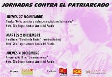Jornadas Feministas contra el Patriarcado en Orihuela.