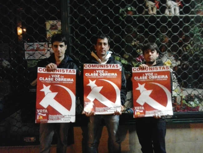 Rueda de prensa e inicio de campaña en Galiza