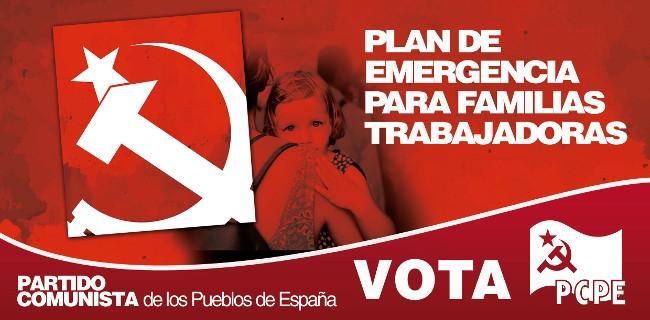 Ejes centrales de la propuesta de los y las comunistas. (2) PLAN DE EMERGENCIA PARA FAMILIAS TRABAJADORAS: