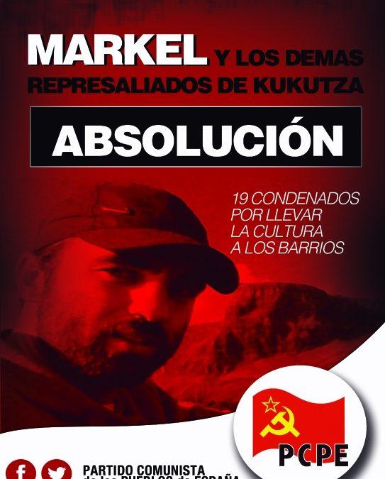 Absolución para Markel y los demás condenados por defender la cultura popular en los barrios.