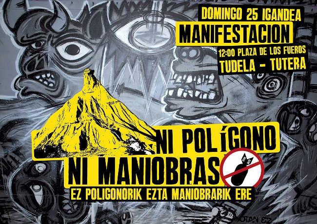 Ni polígono ni maniobras. OTAN no.