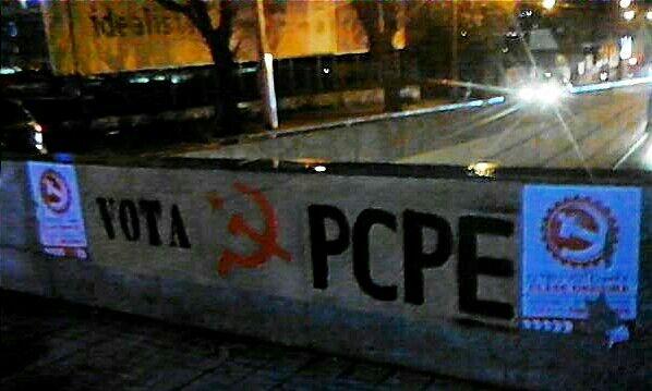 Continúa a campaña de comunistas da Galiza-PCPE