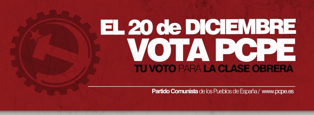 El #20D #VotaComunista