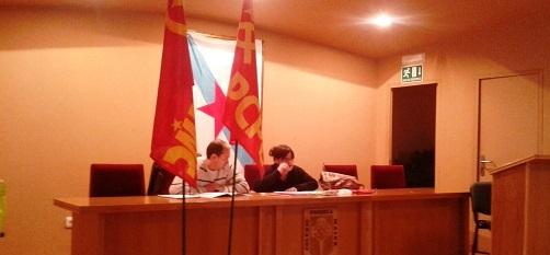 Crónica presentación tesis congreso en Galiza