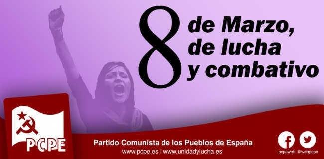 El PCPE y los CJC ante la agresión machista en Ocaña