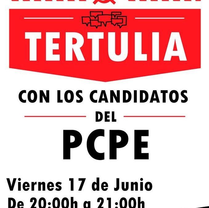 Tertulia con los candidatos del PCPE