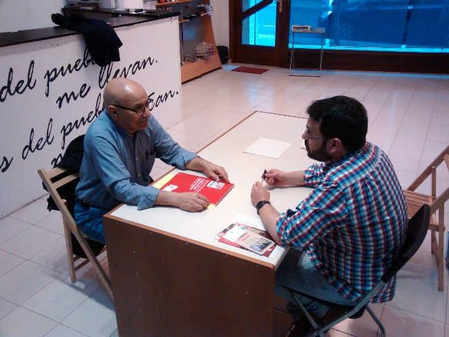 Reunión con el delegado saharaui en La Rioja