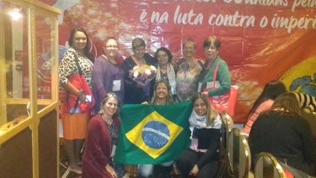 Delegación de la Confederación de Mujeres de Brasil