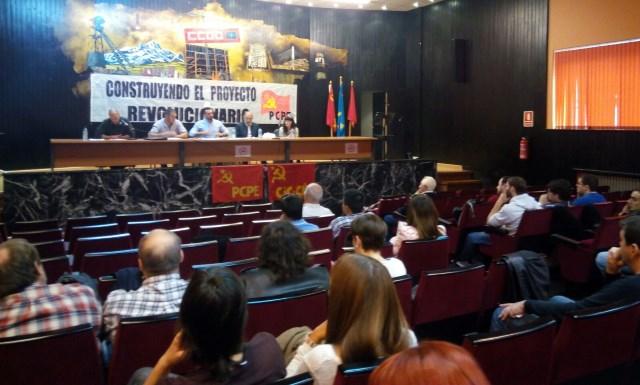 Celebrada con éxito la conferencia del PCPE-Asturies