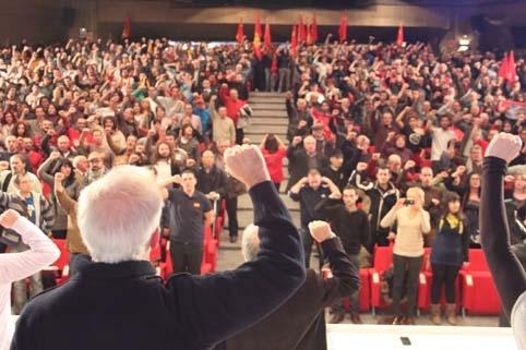 PCPE Santander expresa su compromiso con el proyecto revolucionario del PCPE