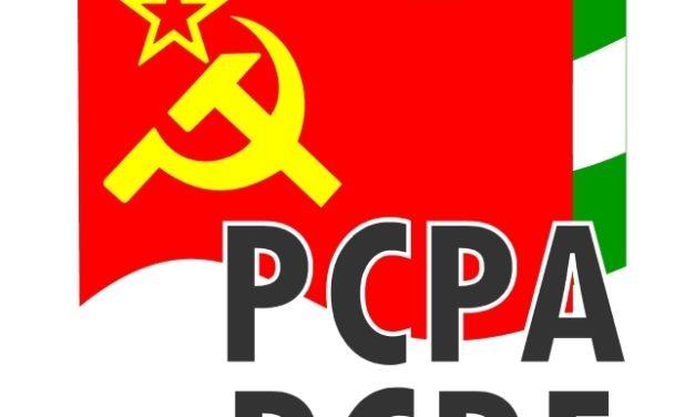 El PCPA-PCPE de Granada ante la muerte de otro hijo de la clase obrera en Huetor Santillán