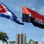 BANDERA DE CUBA Y DEL 26 DE JULIO