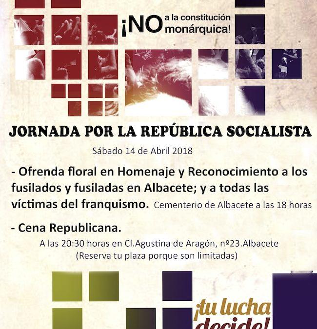 Jornada por la República Socialista en Albacete
