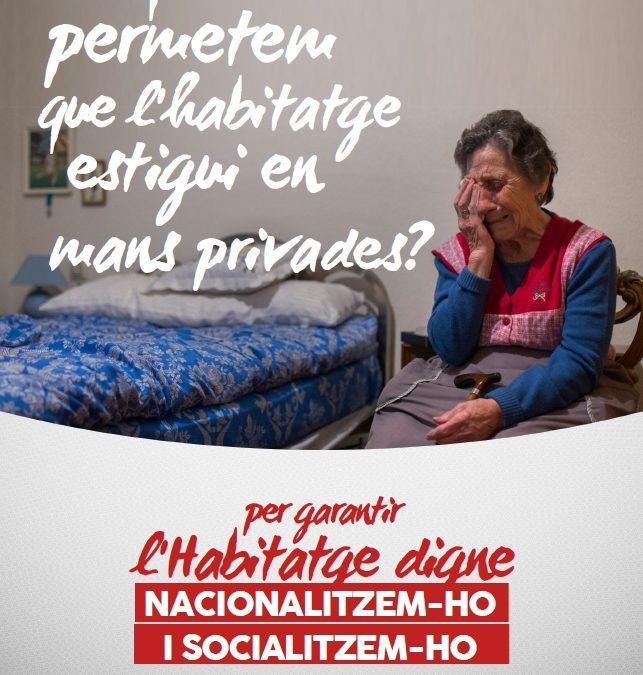 Davant el suïcidi d'un veí de Cornellá, davant el seu desnonament