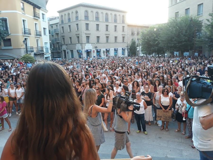 El PCPE condena la agresion sexual en Binaced  (Huesca)