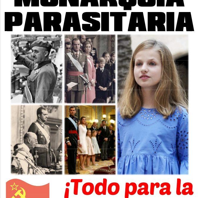 La monarquía no es bienvenida por la clase obrera