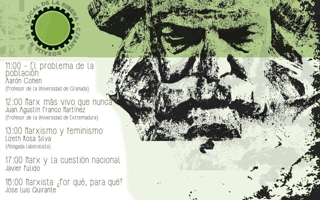 Celebración del bicentenario de Marx en Granada