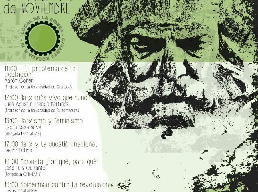 Acto por el bicentenario de Karl Marx en Granada
