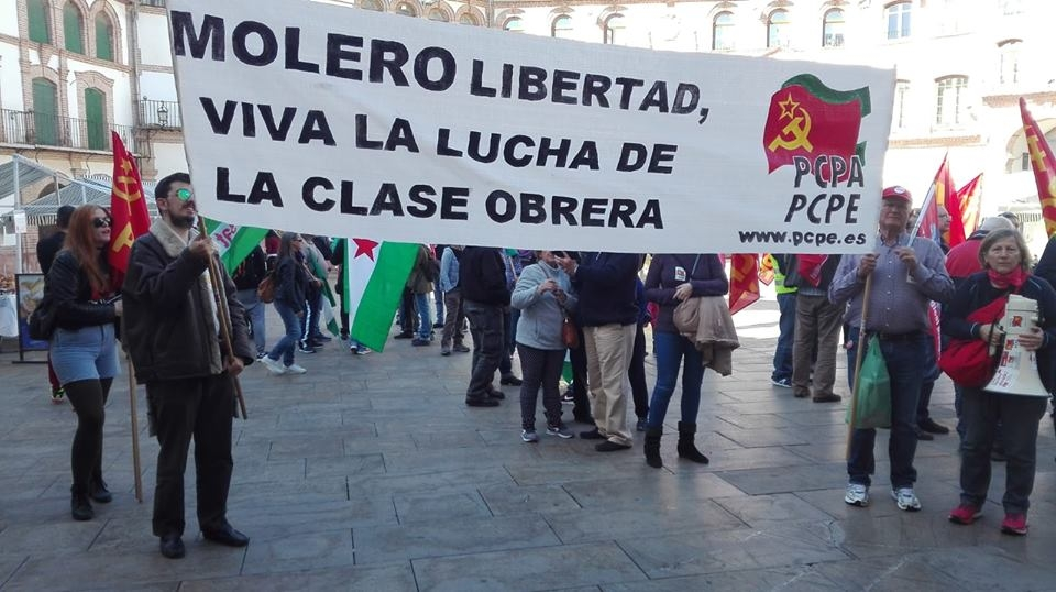 Crónica de la marcha por la liberta de Fran Molero
