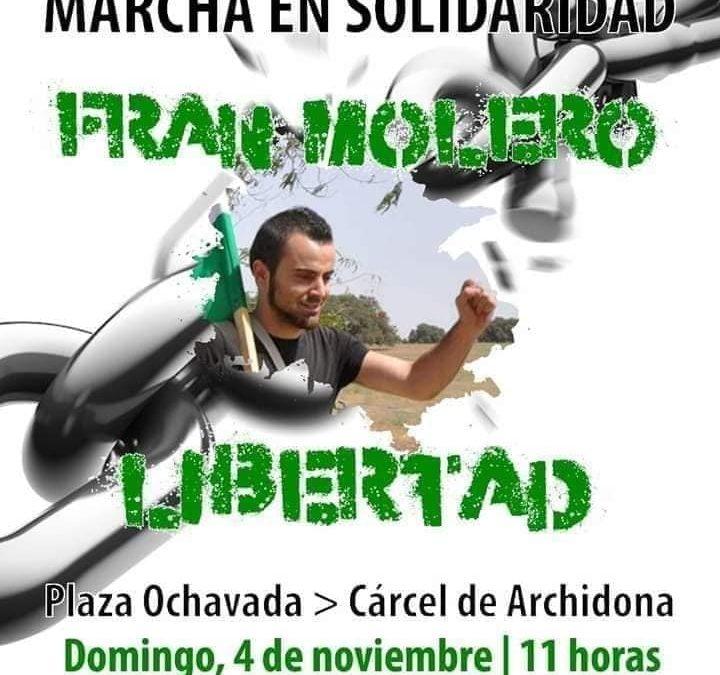 Marhca por la libertad de Fran Molero