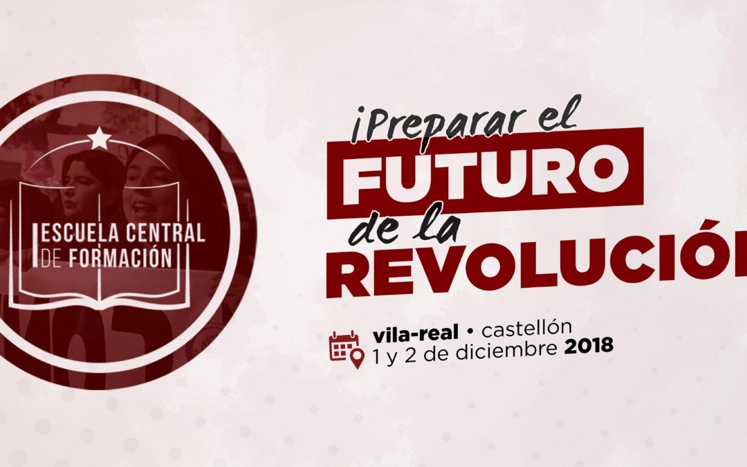 Celebración de la Iª Escuela Central de Formación de la J-PCPE