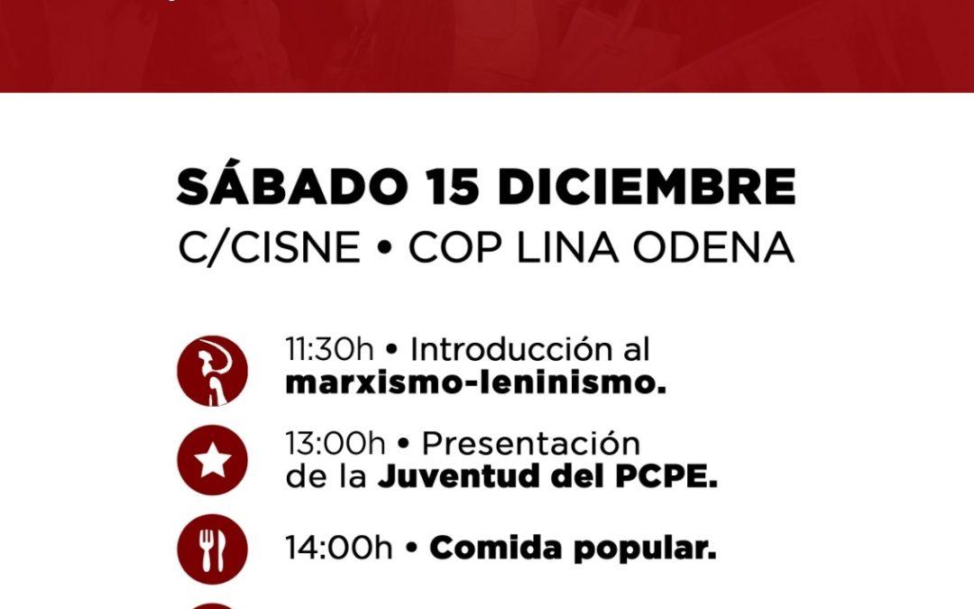 Presentación de la Juventud del PCPE en Granada
