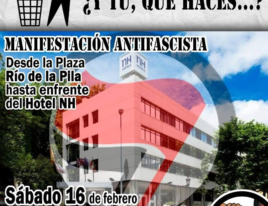 Movilización antifascista en Santander