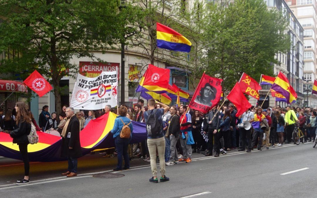 Crónica del 14 de abril en Santander