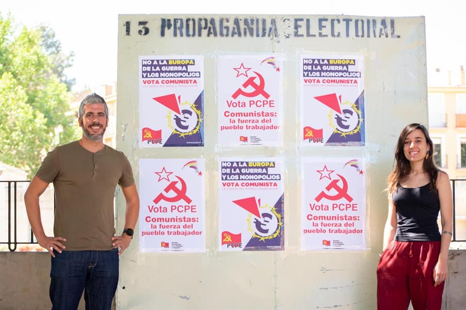 Presentación de campaña y candidaturas del PCPE en la Región de Murcia