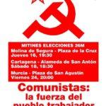 Actos Campaa PCPE Murcia