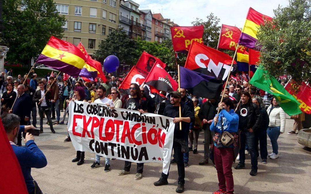 Crónica del 1 de mayo en Santander