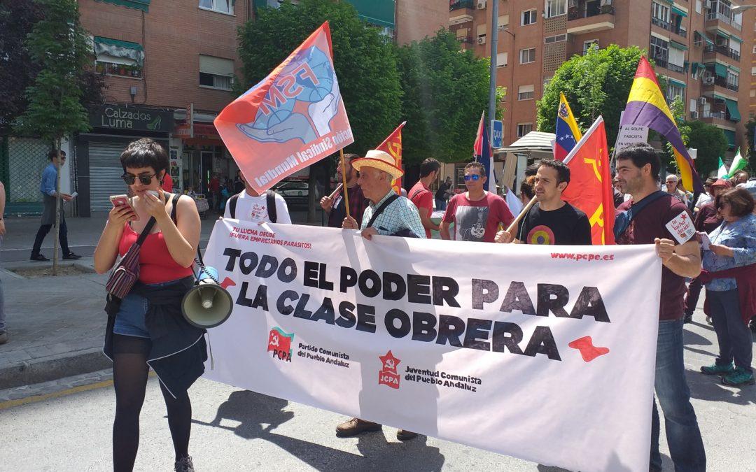 Crónica del 1 de mayo en Granada