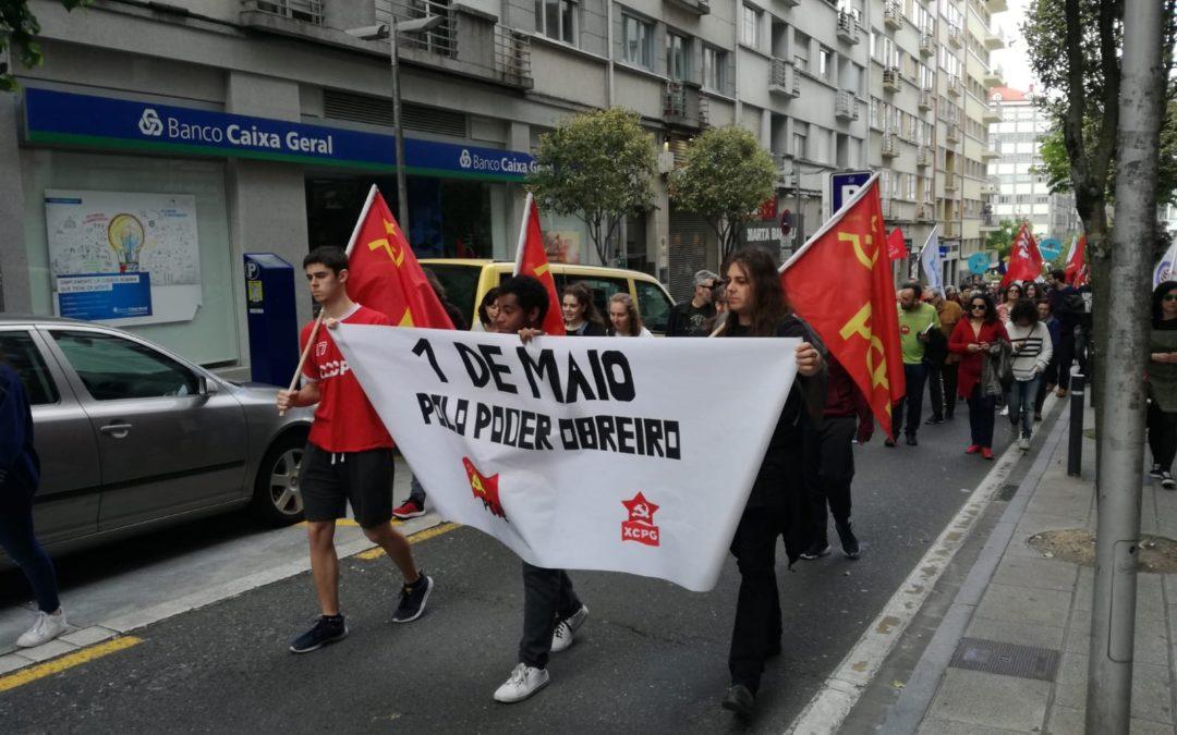 Crónica del 1 de Mayo en Santiago de Compostela
