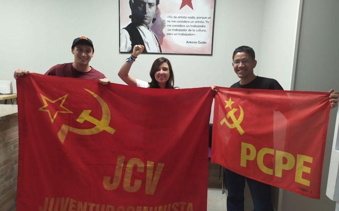 Encuentro con la Juventud Comunista Venezolana