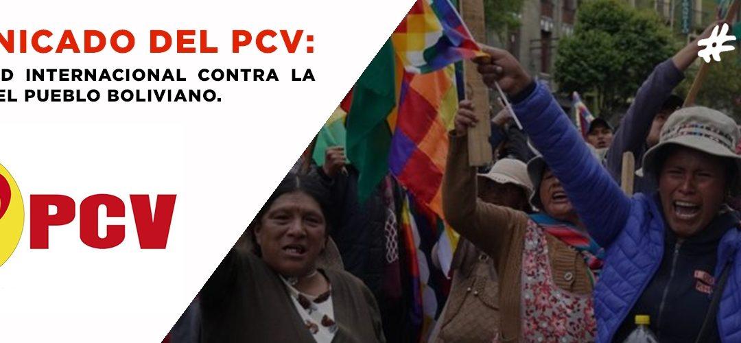 Solidaridad internacional contra la masacre del pueblo boliviano, la persecución de la brigada medica cubana y por la libertad Facundo Molares, fotógrafo de la revista centenario de Argentina.