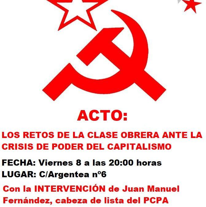 Acto fin de campaña en Malaga