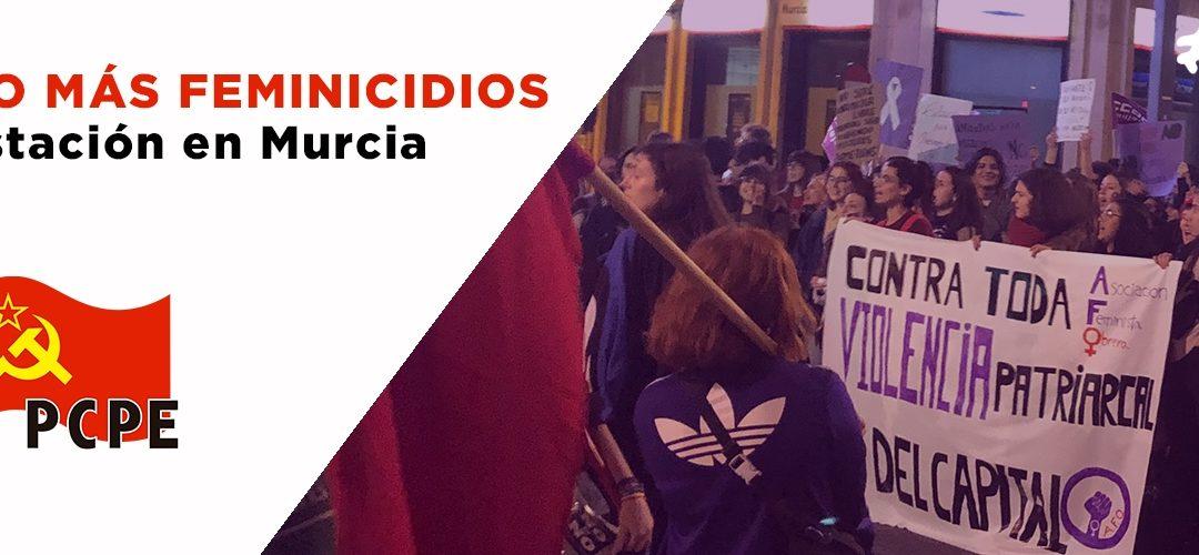 25N: no más feminicidios (manifestación en Murcia)