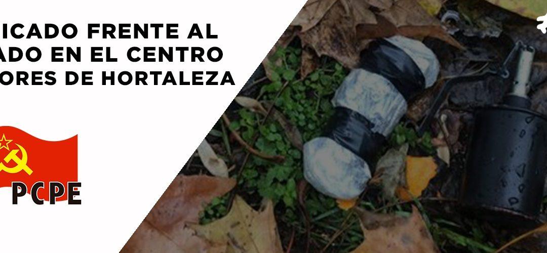 Comunicado frente al atentado en el centro de menores no acompañados de Hortaleza