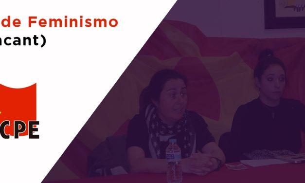 Crónica de la charla debate de Feminismo de Clase (III Jornadas de Feminismo, Alacant)