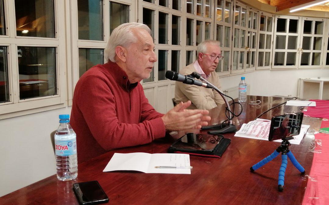 """[Bilbao] Celebrada con éxito por parte del SG, Carmelo Suárez, la charla-debate """"Vieja Política, nueva política. Son vigentes los partidos comunistas"""""""