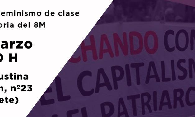 Charla en Albacete sobre el feminismo de clase y la historia del 8M