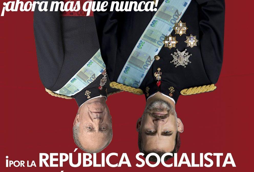 14 de abril – 89 aniversario de la República Española. ¡Ahora más que nunca! República socialista y poder popular