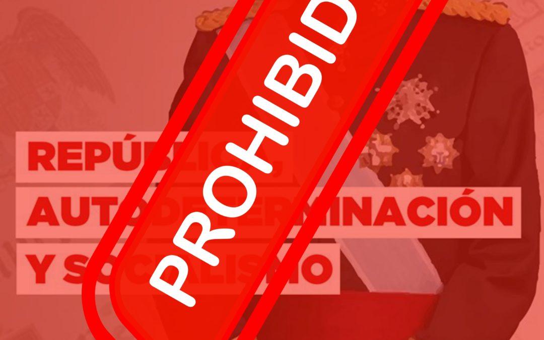 [País Valencià] Prohibición de facto de la concentración contra la visita real a Benidorm